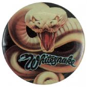 Whitesnake - 'Snake Close Up' Button Badge